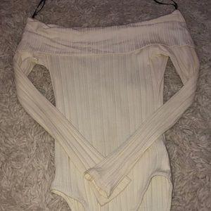 Off white bodysuit